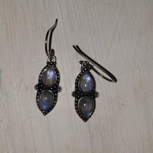 Opal like Earrings
